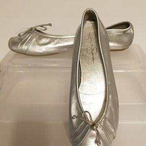 Jessica Simpson ballet flats size 8(?)